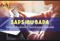 SAPS Ibu Bapa 2019 Semakan Keputusan Peperiksaan Terkini Pelajar