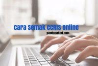 Cara Semak CCRIS Online