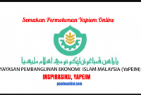 Semakan Permohonan Yapiem Online-inspirasi