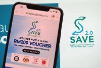 program save 2.0 rebet rm200