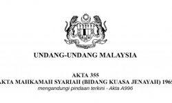 Mengapa Perlunya RUU 355 Atau Pindaan Akta 355 Di Malaysia